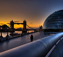 Southbank Sunrise: London, UK by DonDavisUK