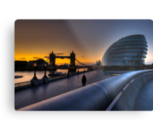 Southbank Sunrise: London, UK Metal Print