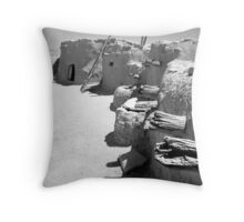 Ancient Homes Of The Desert Throw Pillow