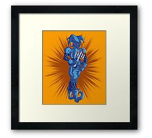 Screencheat Jester Framed Print