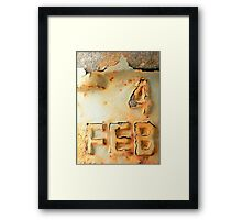 Is This a Special Day? Framed Print