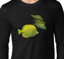 Yellow Fish Long Sleeve T-Shirt