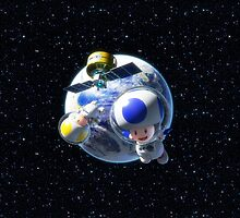 Mario Kart 8 - Toad in Space by frictionqt