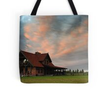 House in village Tote Bag