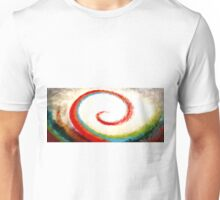 Wave of Color Oil Painting Unisex T-Shirt