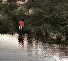Along the Pond by Wayne King