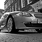 BMW Power in Black and White by DavidGutierrez