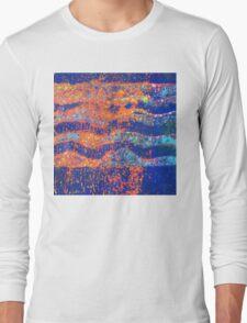 Ocean Waves 3 - Sunset  Long Sleeve T-Shirt