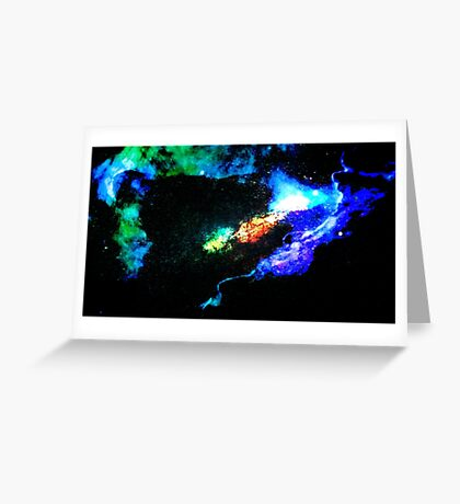 Primary Convection Greeting Card