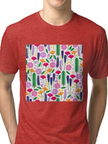 Mt. Rainier's Wildflowers Tri-blend T-Shirt