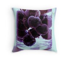 Berry Purple Throw Pillow