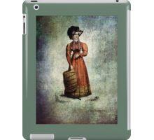 FASHIONABLE LADIES DRESS COAT AND FUR MUFF 1824 iPad Case/Skin