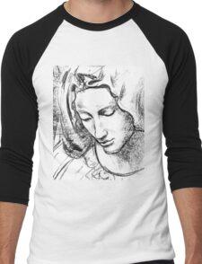 Mary Men's Baseball ¾ T-Shirt