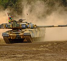 Cheftain Tank - War and Peace by Colin J Williams Photography
