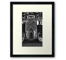 Empty tomb Framed Print