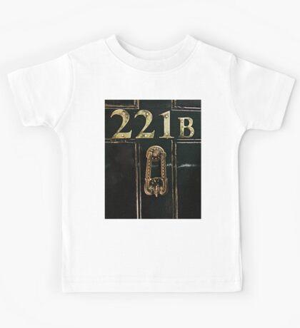 221B - door Kids Tee