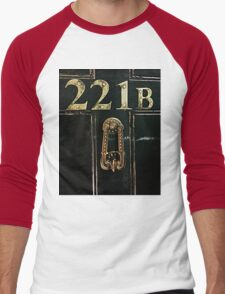 221B - door Men's Baseball ¾ T-Shirt