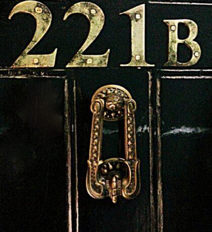 221B - door Sticker