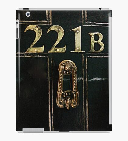 221B - door iPad Case/Skin