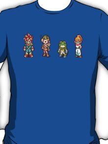 Chrono, Lucca, Frog, Marle T-Shirt