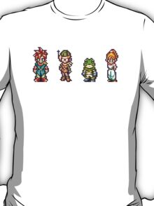 Chrono, Lucca, Frog, Marle T-Shirt