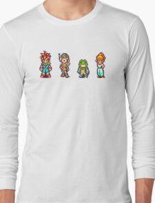 Chrono, Lucca, Frog, Marle Long Sleeve T-Shirt