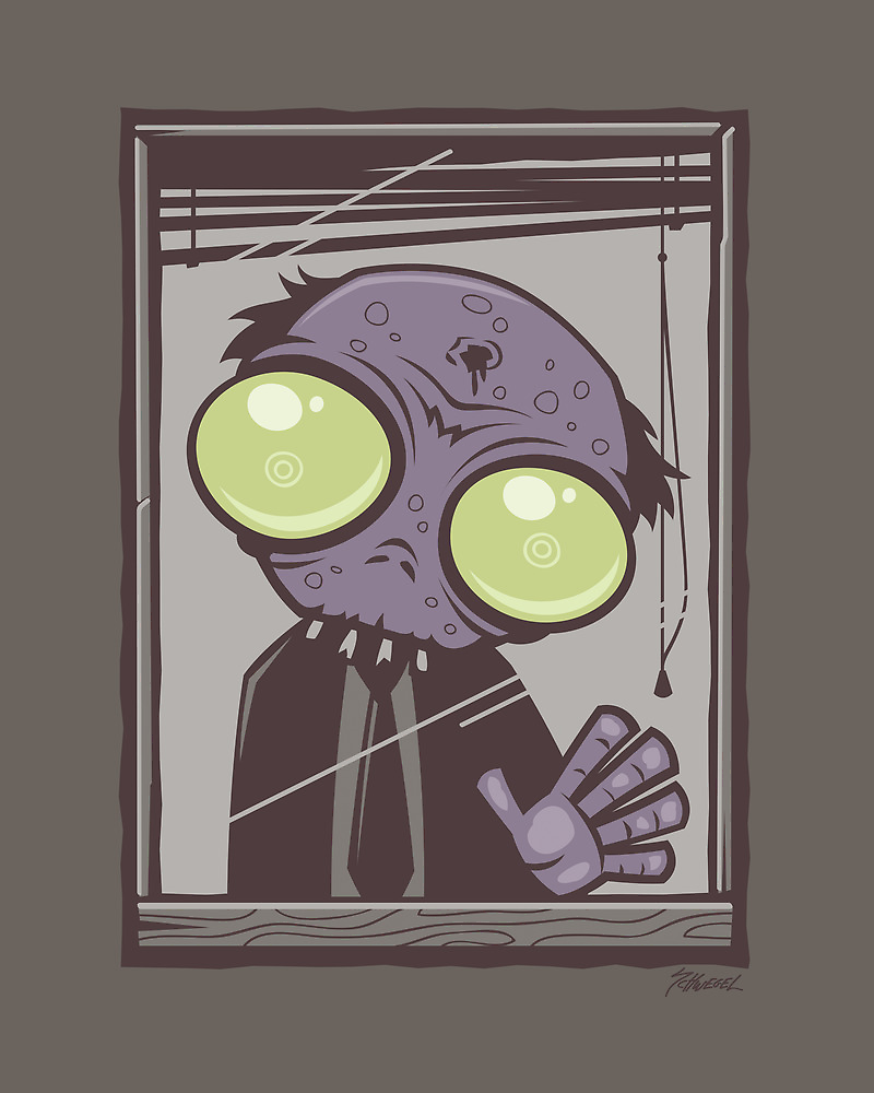 Office Zombie by fizzgig