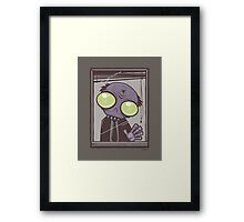Office Zombie Framed Print