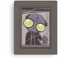 Office Zombie Canvas Print