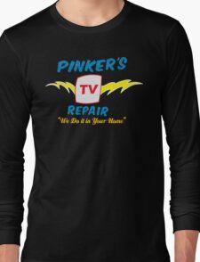 Pinker's TV Repair Long Sleeve T-Shirt