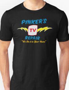 Pinker's TV Repair Unisex T-Shirt