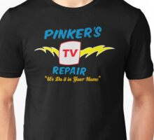 Pinker's TV Repair Unisex T-Shirt