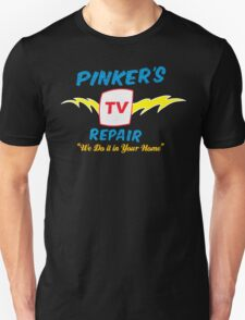 Pinker's TV Repair T-Shirt