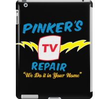Pinker's TV Repair iPad Case/Skin