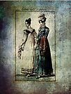 FASHIONABLE LADIES DRESS ENGLISH AND FRENCH 1815 by Tammera