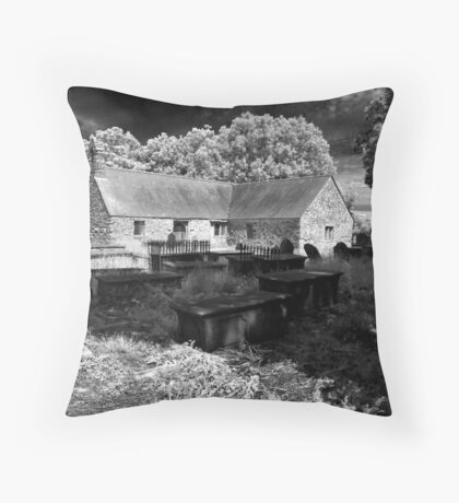 """The old chapel"" Throw Pillow"
