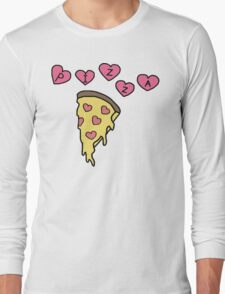 Pizza Is Love Long Sleeve T-Shirt