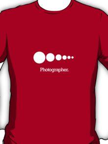 isowear.com - Photographer. T-Shirt