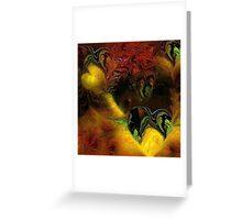 Emotion -  Abstract Greeting Card