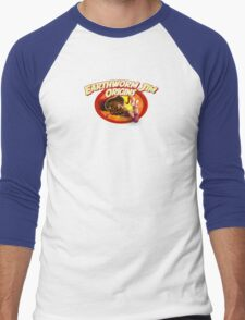 earthworm jim origin Men's Baseball ¾ T-Shirt