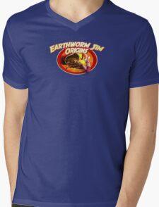 earthworm jim origin Mens V-Neck T-Shirt