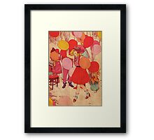 Birthday Party Framed Print
