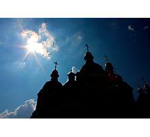St Sophia Cathedral in Kiev Photographic Print