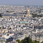 Paris from Eiffel Tower 2 by roggcar