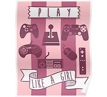 Play Like A Girl Poster