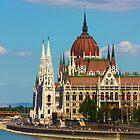 Landscape on Budapest by a1luha