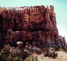Enchanted Mesa by Cameron Hampton