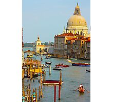 The old Italian town of Venice Photographic Print
