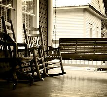 Southern Front Porch by Jonicool