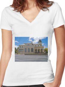 Post Office, Tenterfield, Queensland, Australia Women's Fitted V-Neck T-Shirt